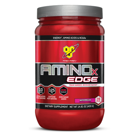 Bsn Amino X Edge Amino Acids   Bcaa Powder  Watermelon  28 Servings