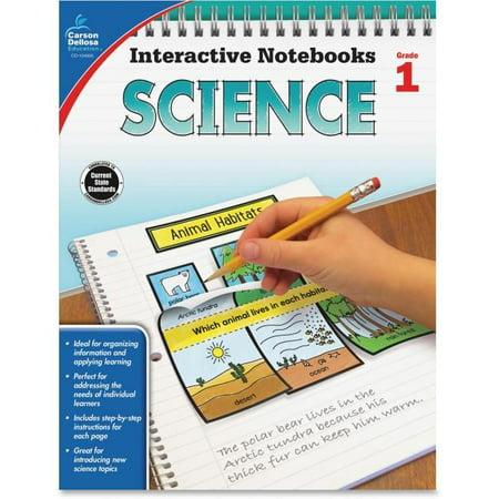 Carson-Dellosa CDP104905 Science Interactive Notebook Grade 1 - image 1 of 1