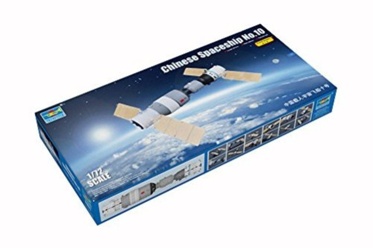 1671 1 72 Chinese Shenzhou-10 Spaceship (Pre-Painted) by Trumpeter Scale Models