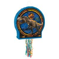 Jurassic World Pinata, Pull String, 19.5 x 19 in