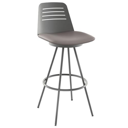 Amisco Evo 26 Inch Metal Swivel Counter Stool Walmartcom