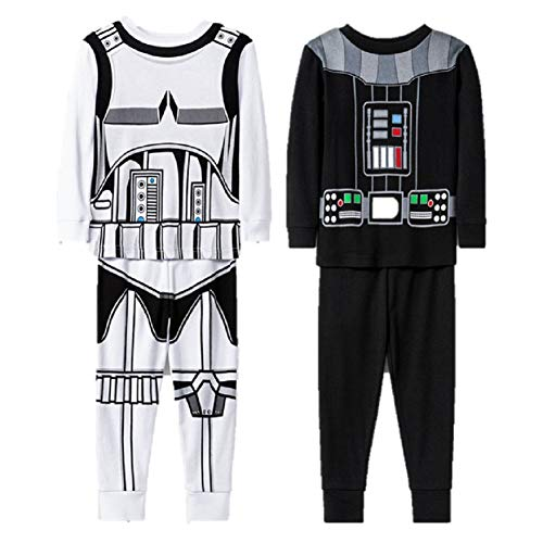 Star Wars Darth Vader nightwear pyjamas sleepwear NEW Boys /& Girls Age 6 8
