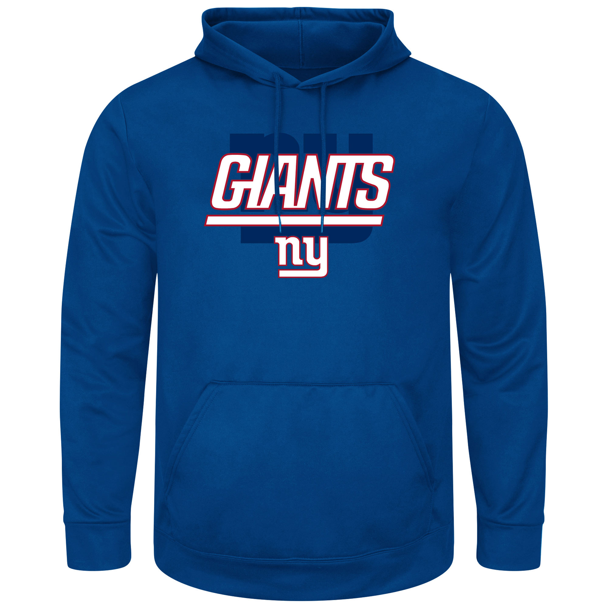 New York Giants Pick Six Pullover Hoodie - Royal