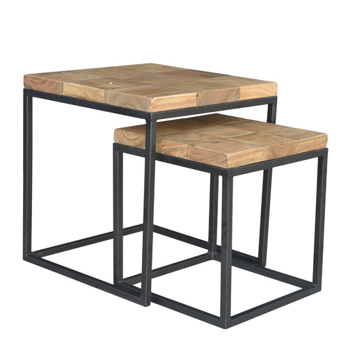 endygo Hermes 2 Piece Nesting Tables