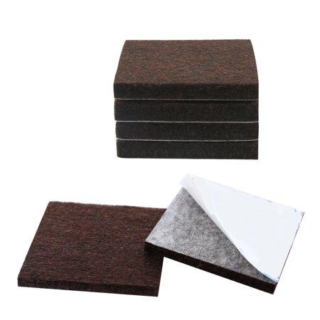 """Meuble feutre coussinet 1 3/4"""" carré Autocollant protecteur Anti-rayure table - image 7 de 7"""