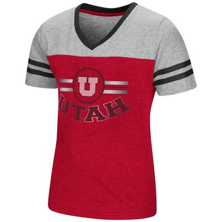 University of Utah Utes Youth Girls Short Sleeve Pee Wee - University Utah Halloween Party
