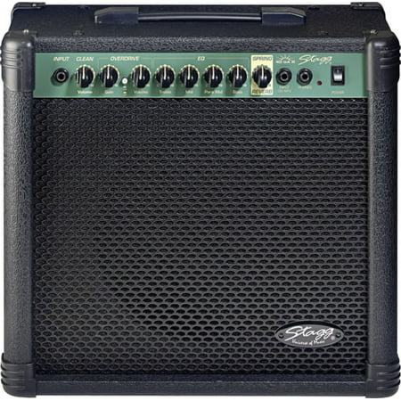 Stagg 40 GA R USA 2-Channel Electric Guitar Amplifier with Spring