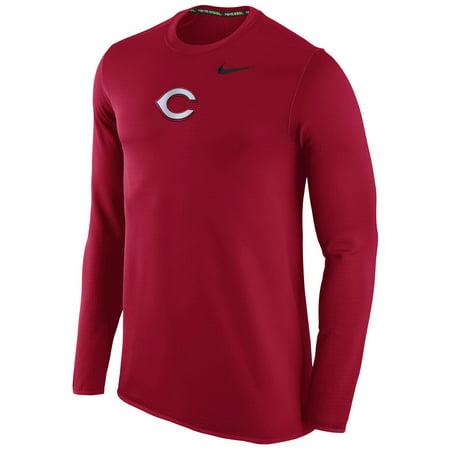 Nike Mens Waffle (Men's Nike Red Cincinnati Reds Waffle Crewneck)
