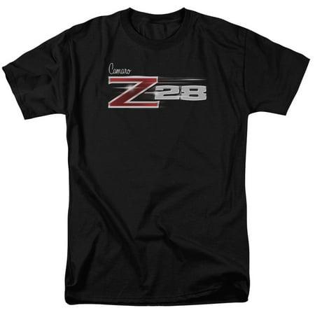 Chevrolet Automobiles Chevy Camaro Z28 Adult T Shirt Tee