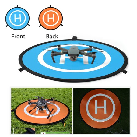EEEkit D75cm Drone Landing Pad for DJI Mavic Pro, DJI Spark, Phantom 3 Phantom 4 Inspire 1 and All Other Quadcopters