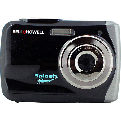 BELL HOWELL Black Splash 12.0 Megapixel Underwater Digital and Video Camera