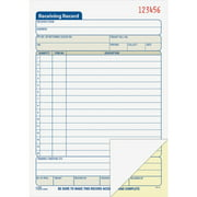 Adams, ABFDC5089, Carbonless Receiving Record Book, 1 Each, White