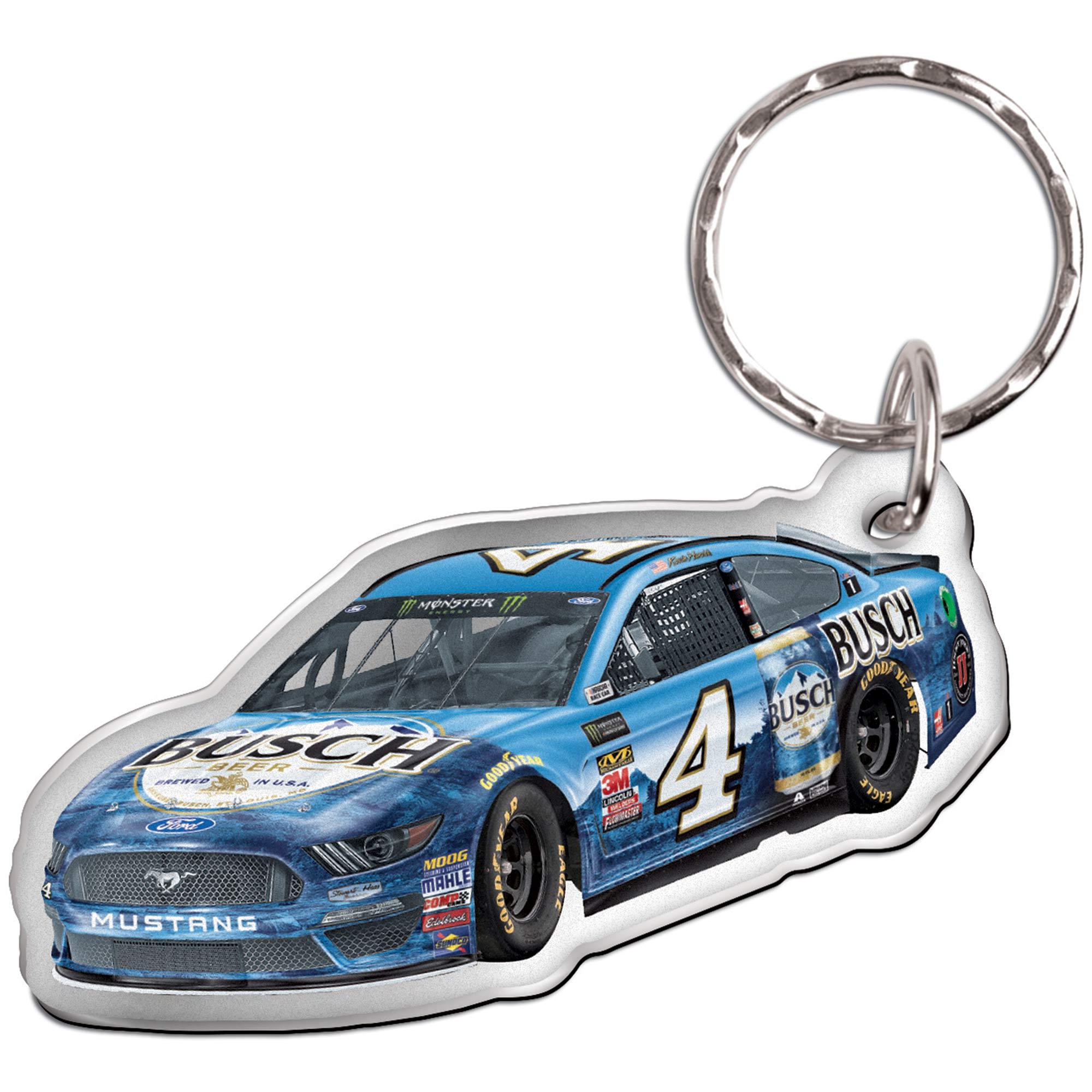 Kevin Harvick WinCraft Metallic Car Shape Key Ring - No Size