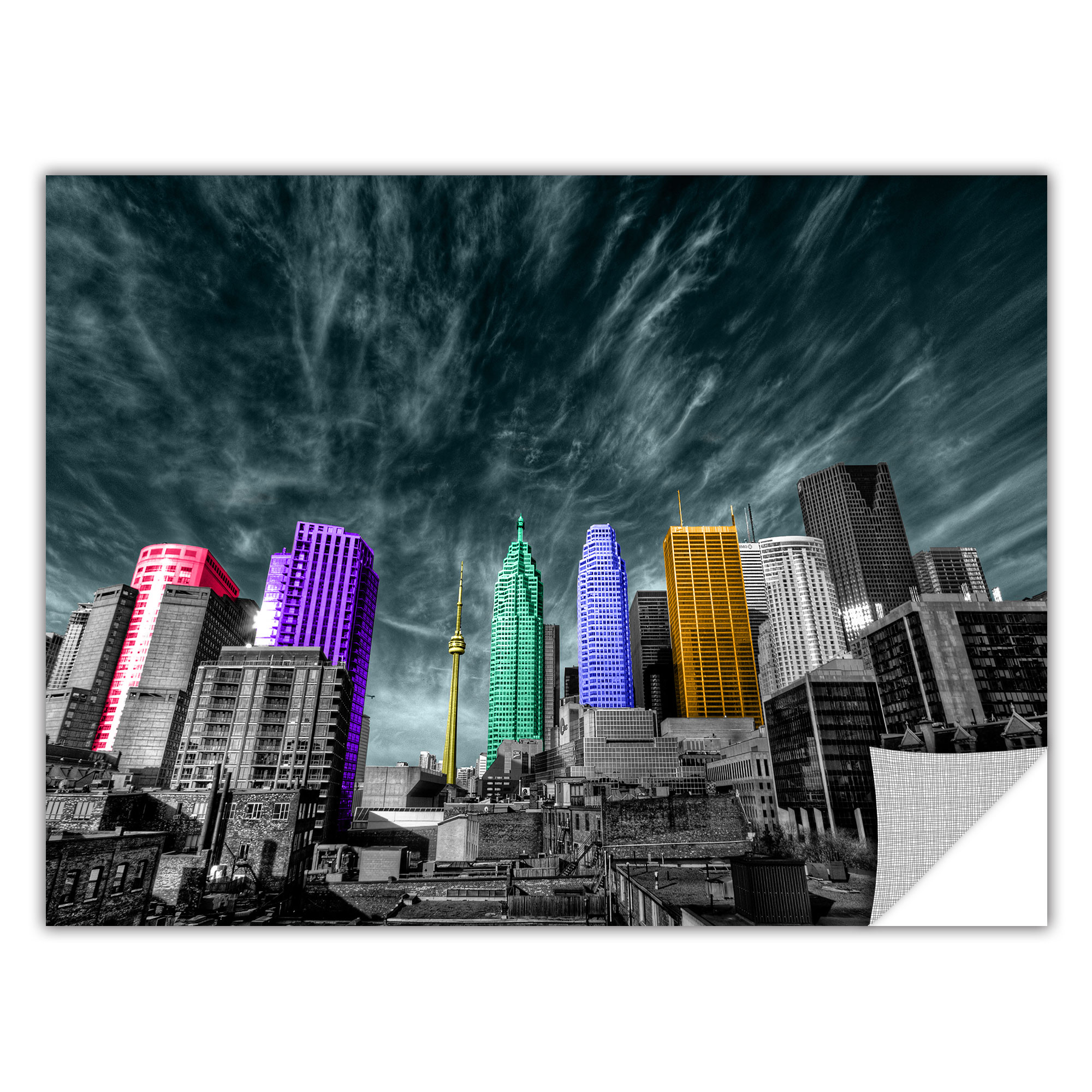 'Toronto' Removable Wall Art Mural