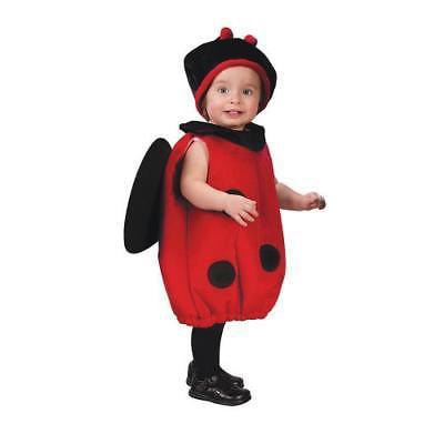 IN-MC0690 Baby Girls Plush Ladybug Costume  By Fun Express - Ladybug Costume Baby Girl
