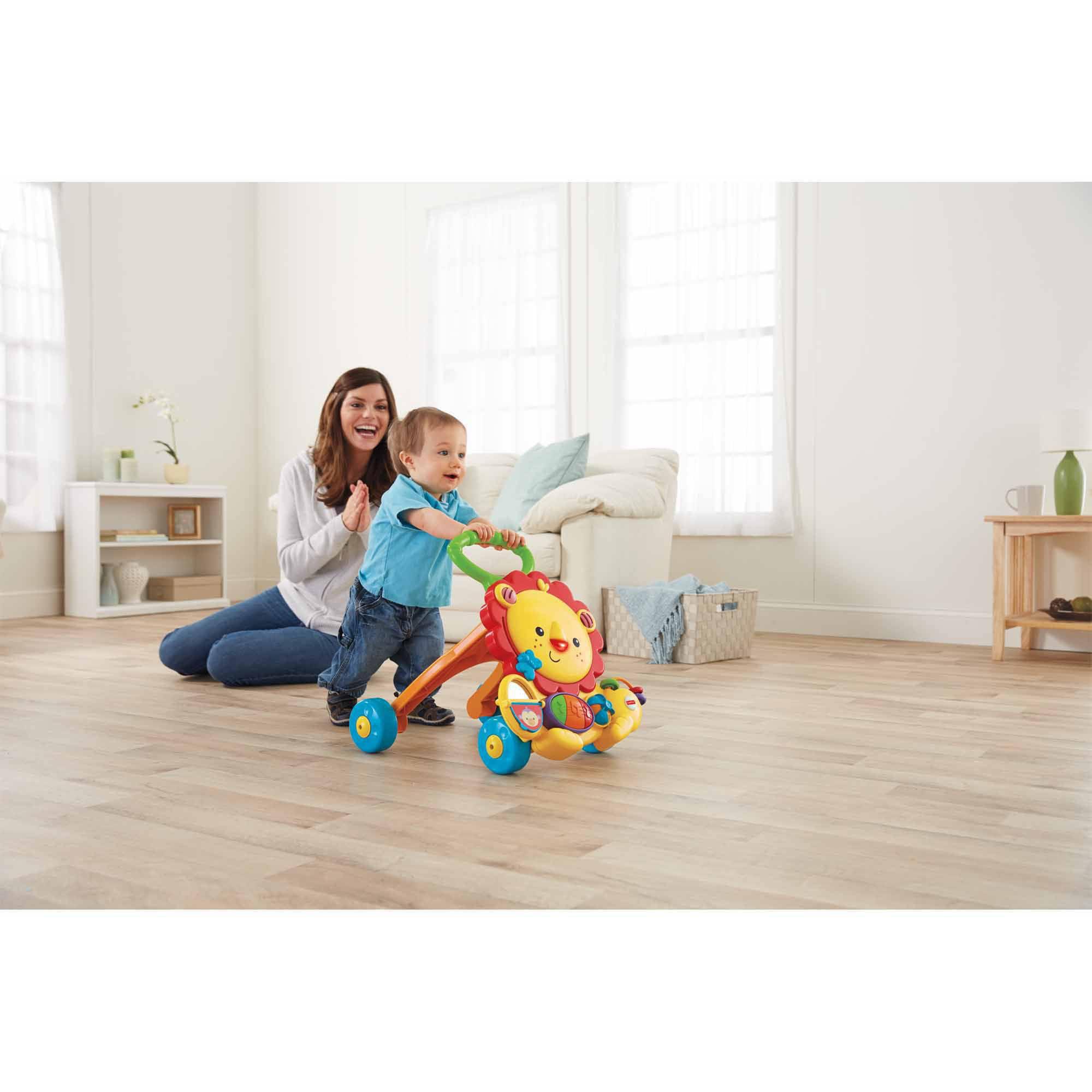 Fisher Price Musical Lion Baby Walker Walmart