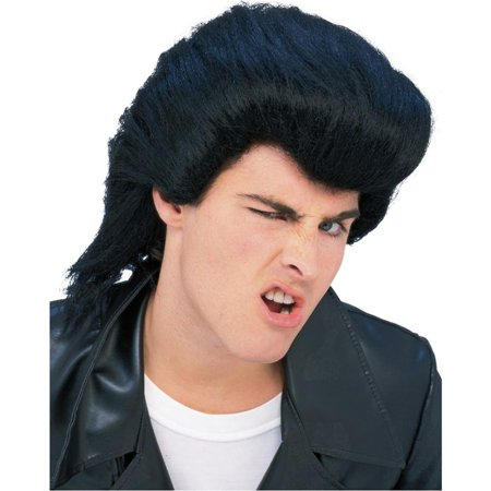 Greaser Rockabilly Men's 50's Pompadour Costume Wig (Greasers Costumes)