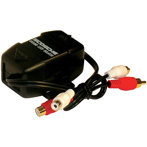 SCOSCHE ES034 - GROUND LOOP ISOLATOR for Car Stereo / Radio Installation