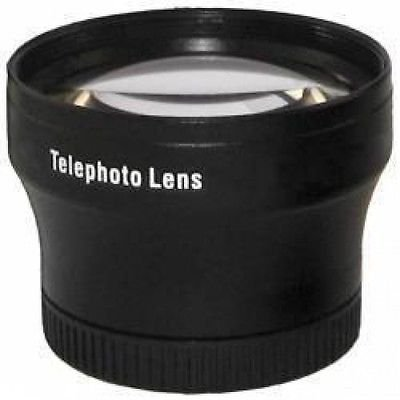 Tele Lens for Sony DCR-HC96, Sony DCR-HC96E, Sony DCR-SR11, Sony DCR-SR11E, Sony DCR-SR30, Sony DCR-SR30E Tele Lens for Sony DCR-HC96, Sony DCR-HC96E, Sony DCR-SR11, Sony DCR-SR11E, Sony DCR-SR30, Sony DCR-SR30ENot made by Sony