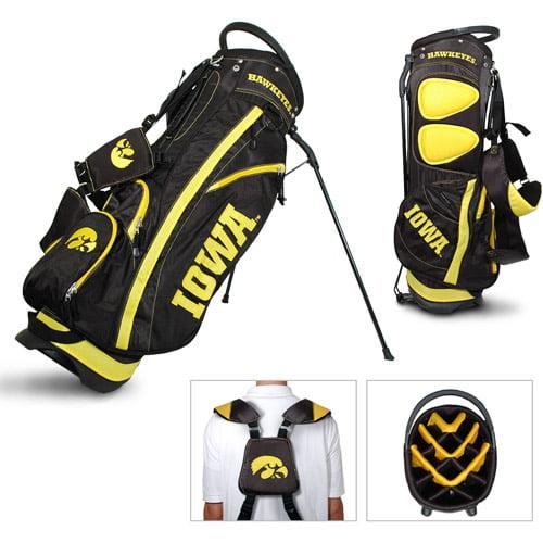 Team Golf NCAA Iowa Fairway Golf Stand Bag by Generic