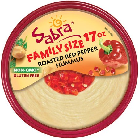 Sabra roasted red pepper hummus 17 oz for Roasted red peppers hummus