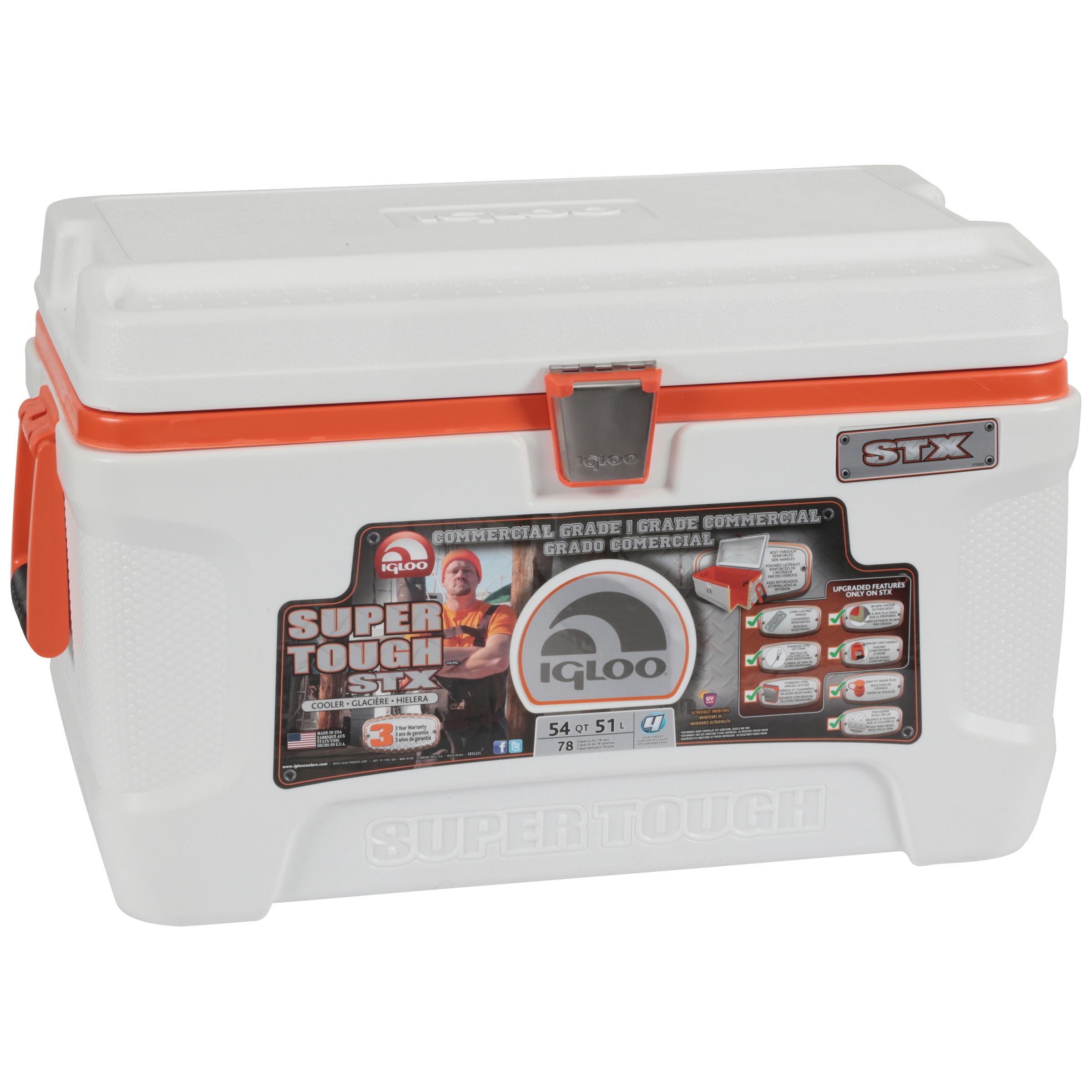 Igloo 54-Quart Super-Tough STX Cooler