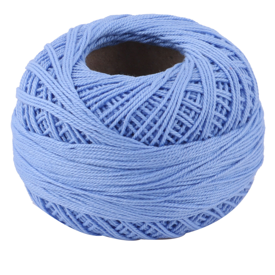 Family DIY Hat Weaving Sewing Crochet Yarn String Thread Embroidery Sky Blue 60g