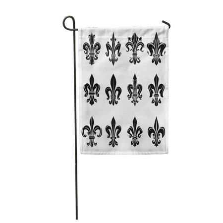 SIDONKU Royal French Heraldry for of Arms Emblem Medieval Black Garden Flag Decorative Flag House Banner 28x40 inch](Banner Medieval)