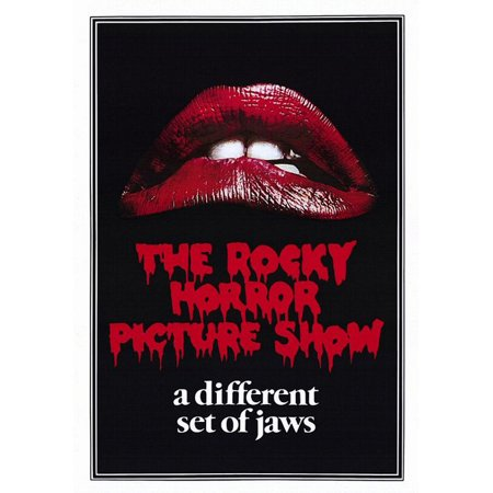 The Rocky Horror Picture Show - Movie Poster / Print (Regular Style / Lips) (Size: 27