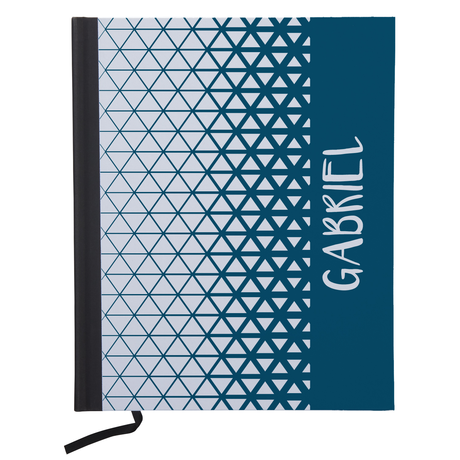 Personalized Pop Patterns Notebooks - Available in Pink or Navy