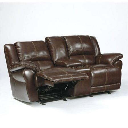Excellent Ashley Furniture Lenoris Leather Power Reclining Loveseat In Coffee Inzonedesignstudio Interior Chair Design Inzonedesignstudiocom