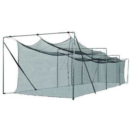 Cimarron 70x12x12 #42 Twisted Poly Batting Cage Net ()