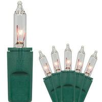 PureLock Clear Christmas Lights, Mini Christmas Lights, White Christmas Tree Lights by Kringle Traditions