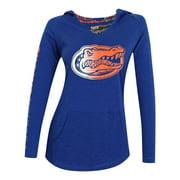 Women's Long Sleeve Pajama Hooded University of Florida Gators Shirt