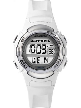 7fdc16e0d Product Image Timex Women's Marathon by Timex |White| Sport Watch TW5M15100