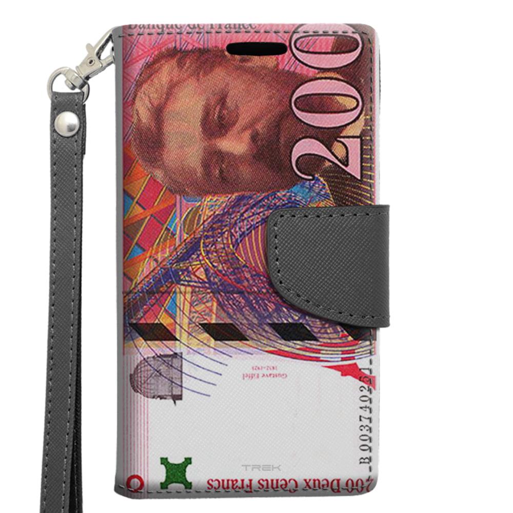 Samsung Galaxy S6 Edge Plus Wallet Case - 200 Cinquante Francs