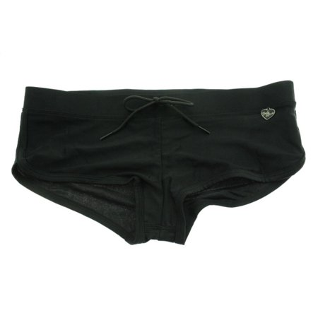 - Body Glove Womens Sidekick Boy Shorts Solid Swim Bottom Separates