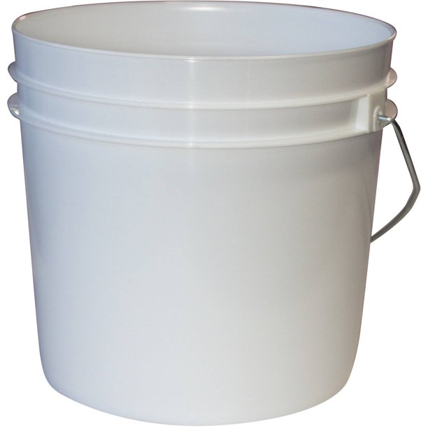 Argee 1 Gallon White Bucket 10 Pack Walmart Com Walmart Com