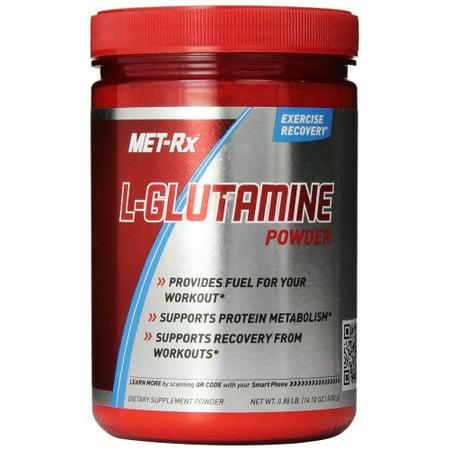 MET-Rx L-Glutamine Powder, 400 gram (400 Gram Thinsulate Vs 800 Gram Thinsulate)