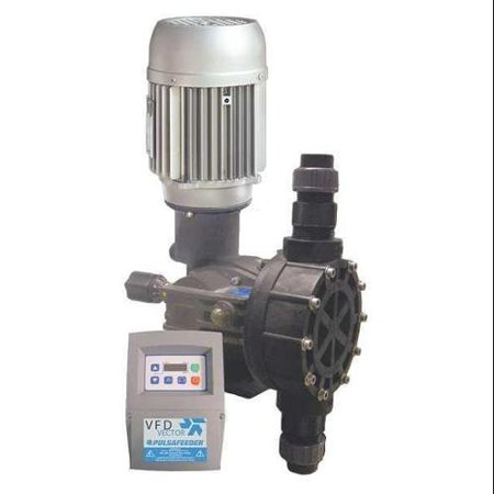 BLACKLINE BY PULSAFEEDER MD1BKTPN2C Chemical Metering Pump,28inH,883cc/Min.