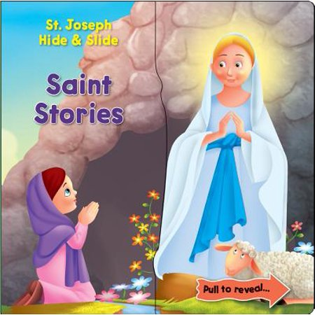 Saint Stories Hide & Slide (Board Book)