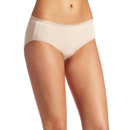 ba1bd830a2f4 Vanity Fair Womens Body Shine Illumination Hipster, 7, Rose Beige