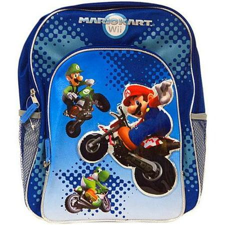 Super Mario Mario Kart Wii Backpack