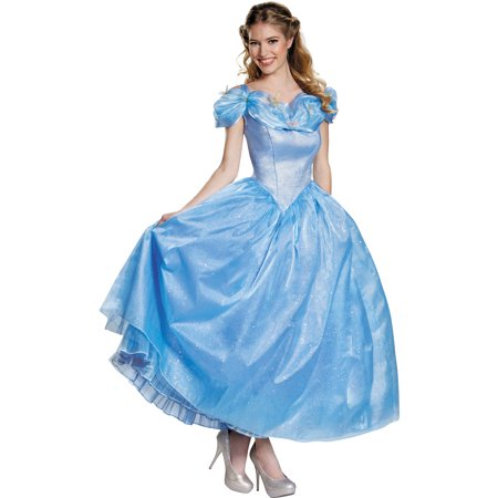 Cinderella Adult Prestige Women's Adult Halloween Costume - Cindrella Costume