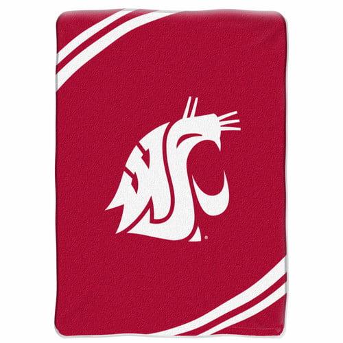 Washington State Cougars NCAA Force Series Raschel Plush 60x80 Throw/Blanket