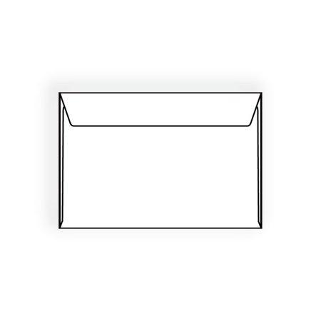 Open Side Booklet Envelopes, 6