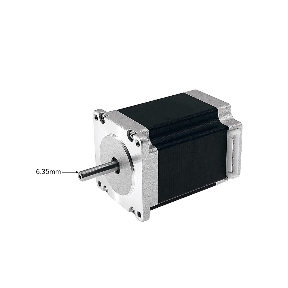 Entweg Stepping Motor,Nema 23 Stepper Motor with Motor Leads Shaft Diameter 6.35mm High Torque Machine Stepping Motor 23HS7628 Bipolar 3D Printer Parts Kit