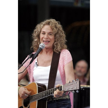 Carole King On Stage For Nbc Today Show Concert Series With Carole King Rockefeller Center New York Ny July 15 2005 Photo By Fernando LeonEverett Collection