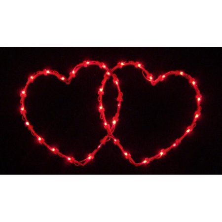 19 lighted valentine 39 s day twinkling double heart window for 30 lighted nativity christmas window silhouette decoration