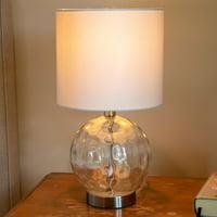 Holland Coastal Glass Orb Lamp